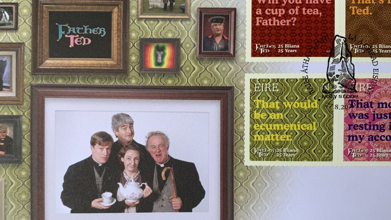 Father Ted Stamps, That's mad, Ted