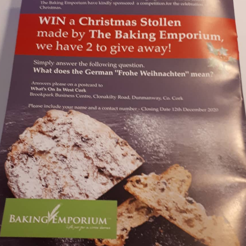 Get your artisan Christmas Stollen from The Baking Emporium