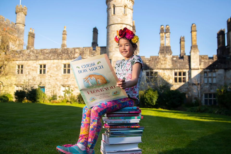 Children's literature in a Castle - Lismore Towers & Tales Festival 2021