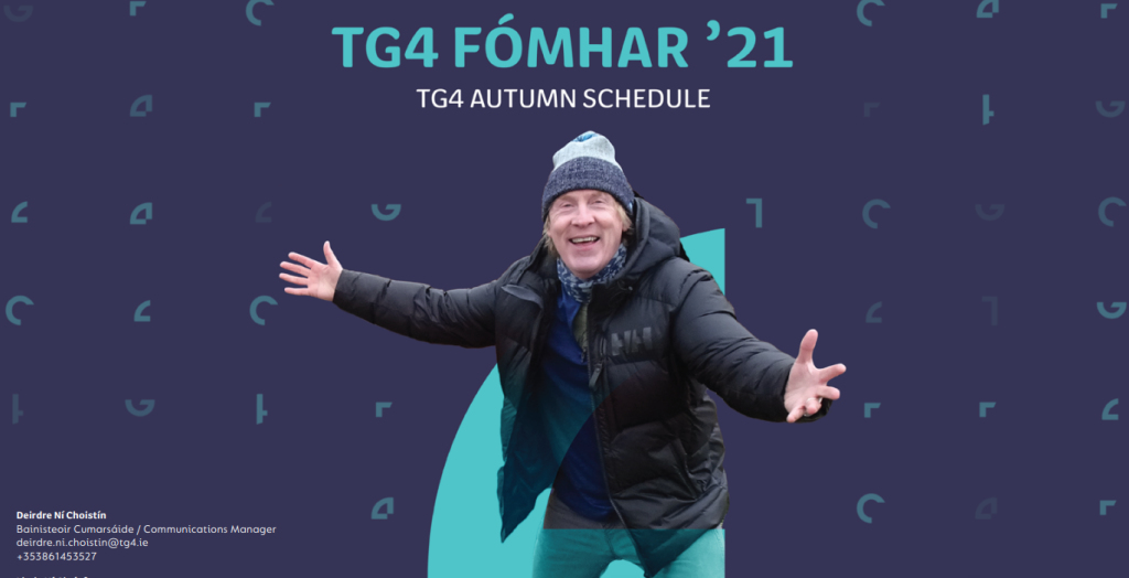Killers, Spillers and Thrillers in TG4's Autumn Schedule #Fómhar21